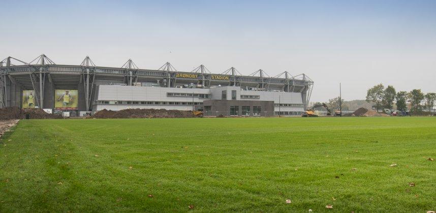 Ny LED belysning – Brøndby Stadion